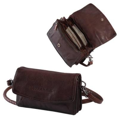 ROKKER Geldbeutel Lady Wallet, dark brown