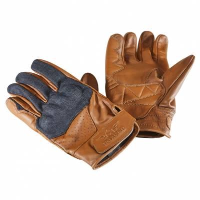 ROKKER Handschuhe Denim, braun