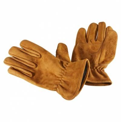 ROKKER Handschuhe Nubuck, braun