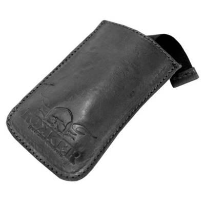 ROKKER Handyhülle Leder schwarz
