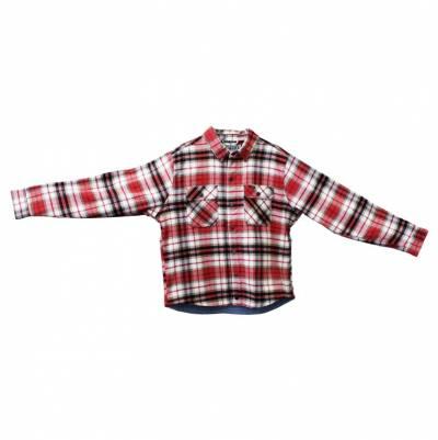 ROKKER Hemd Phoenix, rot-schwarz-beige