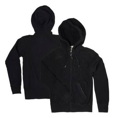 ROKKER Hoody TRC Zipper Men, schwarz