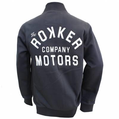 ROKKER Jacke Motors Zip, schwarz