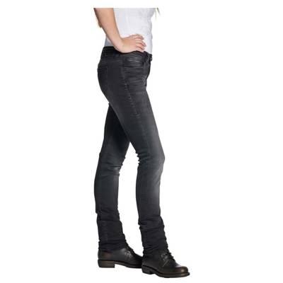 ROKKER Jeans Donna Black, L32, schwarz