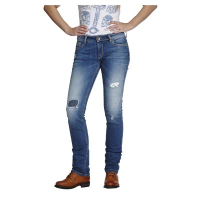 ROKKER Jeans Hose The Diva Distressed, L32