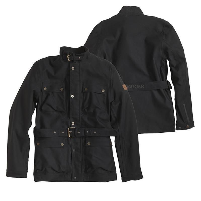 ROKKER Jeans Jacke Black Jacket Long