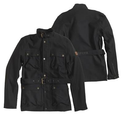 ROKKER Jeans Jacke Black Jacket Long