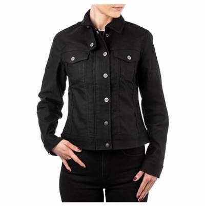 ROKKER Jeans Jacke Black Jacket Short