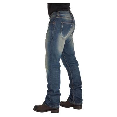 ROKKER Jeans Original, L30, blau moto
