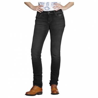 ROKKER Jeans Rokkertech Lady Black L32, schwarz