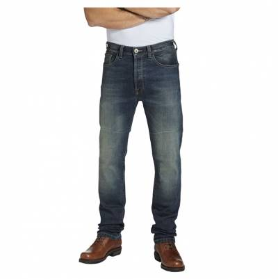 ROKKER Jeans Rokkertech Pant Straight L32, blau washed