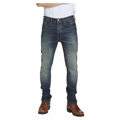 ROKKER Jeans Rokkertech Slim, L30 blau washed
