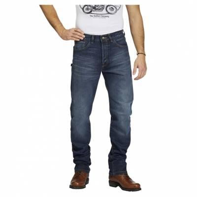 ROKKER Jeans Rokkertech Slim Straight L34, blau