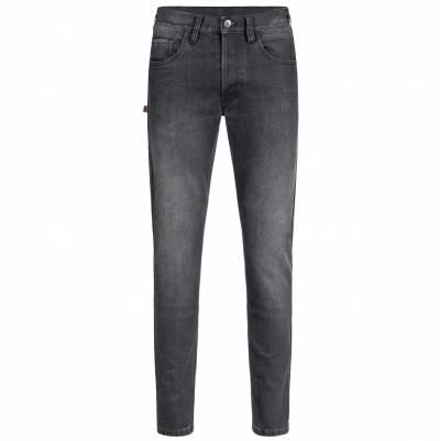 ROKKER Jeans Rokkertech Super Slim L32, schwarz
