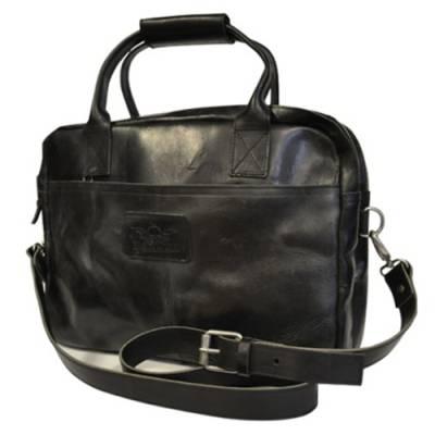 ROKKER Laptoptasche, schwarz