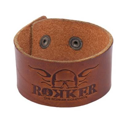 ROKKER Lederarmband Bracelet Original, braun