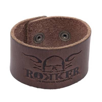 ROKKER Lederarmband Bracelet Original, dunkel braun