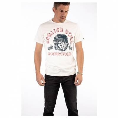 ROKKER T-Shirt English Dogs, dirt white