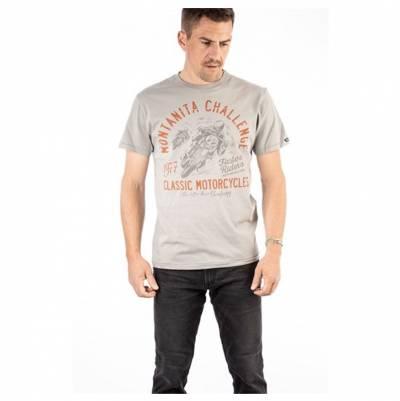 ROKKER T-Shirt Montanita Classic, hellgrau