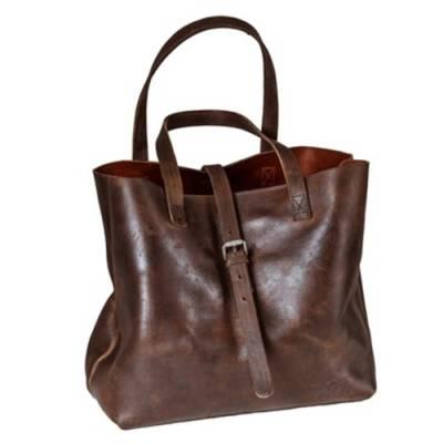 ROKKER Tasche Lady Bag, dunkelbraun