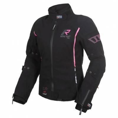 Rukka Damen Textiljacke Spektria, schwarz-pink