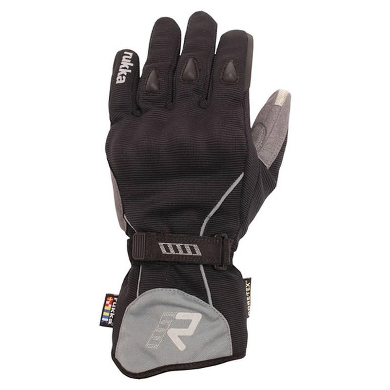 Rukka Handschuhe Virium GTX, schwarz-grau