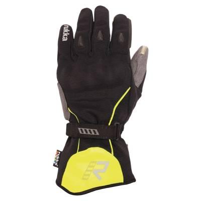 Rukka Handschuhe Virium GTX, schwarz-neongelb