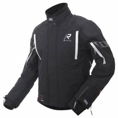 Rukka Textiljacke Shield-R, schwarz-silber