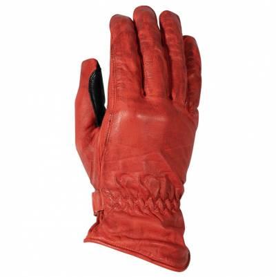 Rusty Stitches Handschuhe Johnny, rot-schwarz