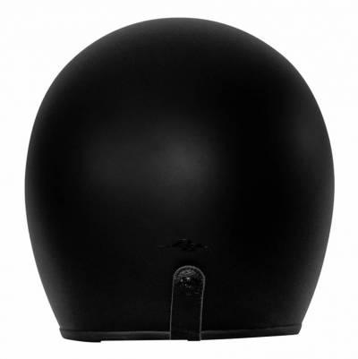 Rusty Stitches Helm Fonzie schwarz matt