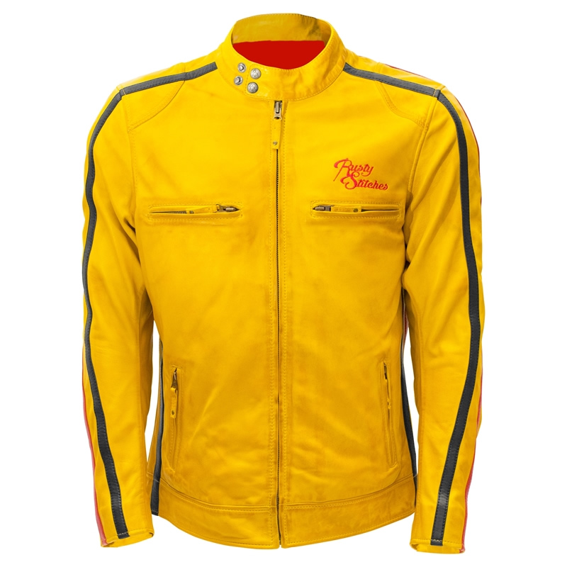 Rusty Stitches Jacke Billy Yellow, gelb