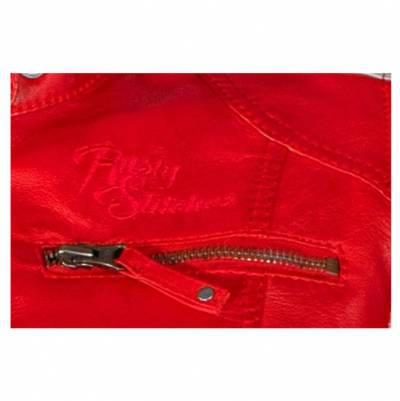 Rusty Stitches Jacke Uma Red