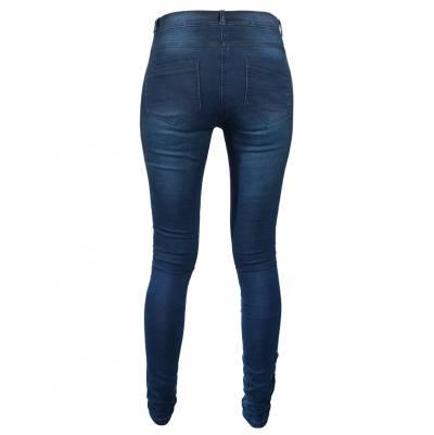 Rusty Stitches Jeans Hose Ella Denim, blau