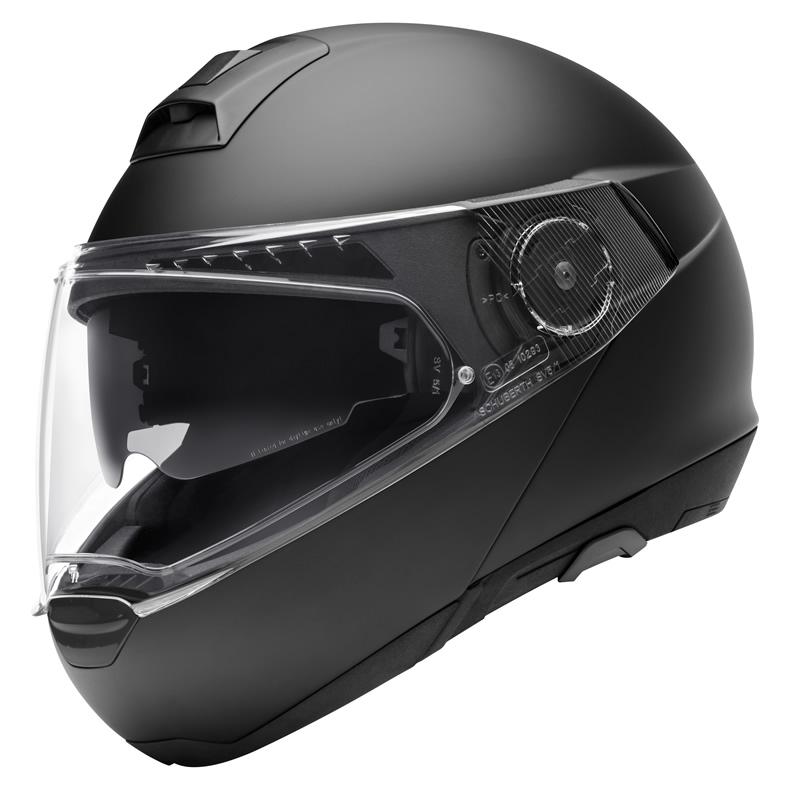 Schuberth Helm C4 Basic, schwarz-matt