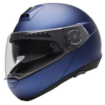 Schuberth Helm C4, blau-matt