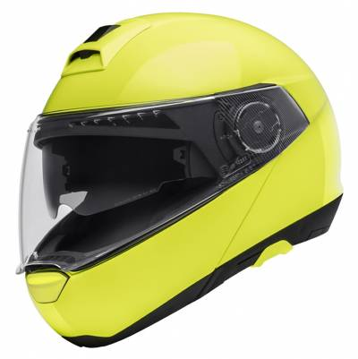 Schuberth Helm C4, fluogelb