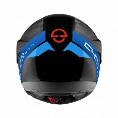 Schuberth Helm C4 Pro Carbon Avio Blue, schwarz-blau-rot