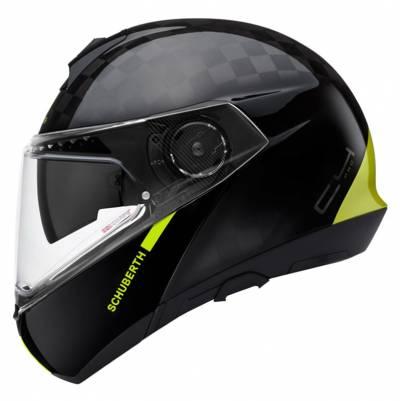 Schuberth Helm C4 Pro Carbon Fusion, schwarz-fluogelb
