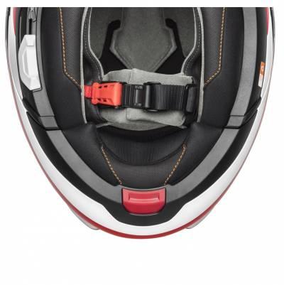 Schuberth Helm C4 Pro Fragment Red, weiß-rot matt