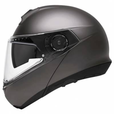 Schuberth Helm C4 Pro, metallic grau