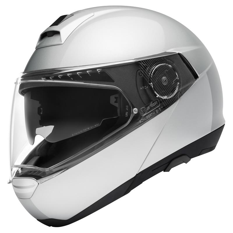 Helm C4 Pro Silber