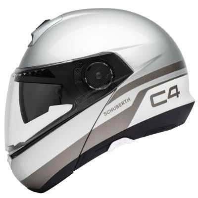 Schuberth Helm C4 Pulse Silver, silber-anthrazit-weiß
