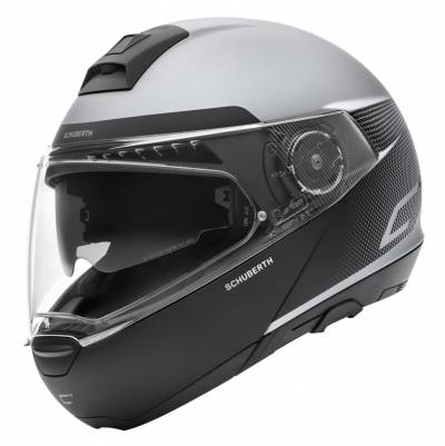 Schuberth Helm C4 Resonance Grey, grau-schwarz