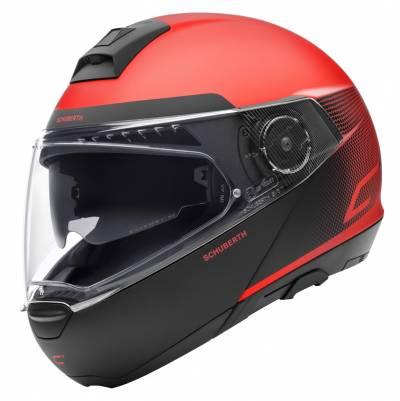 Schuberth Helm C4 Resonance Red, rot-schwarz