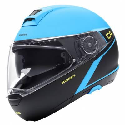 Schuberth Helm C4 Spark Blue, blau-schwarz matt