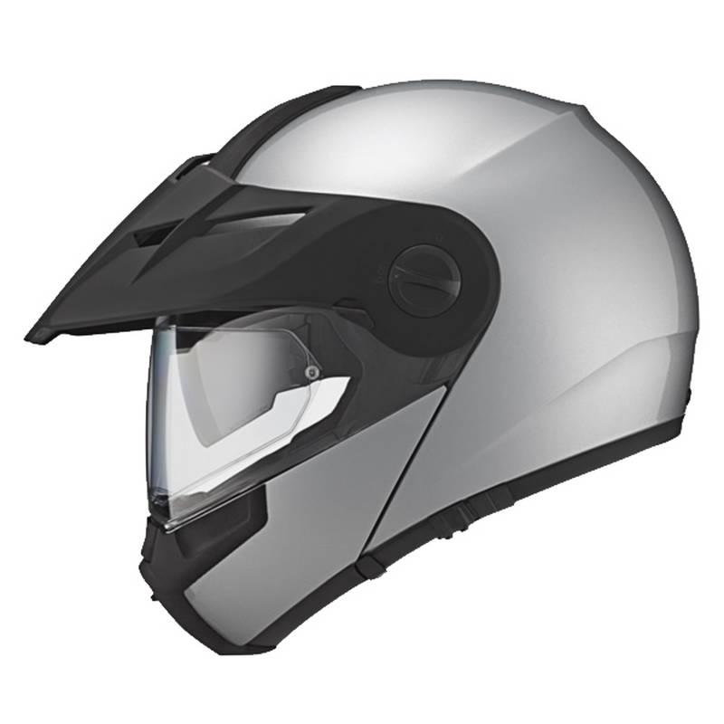 Schuberth Helm E1, silber