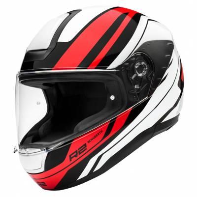 Schuberth Helm R2 Enforcer Red, weiß-rot-schwarz