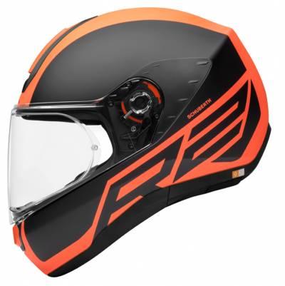 Schuberth Helm R2 Traction Orange, schwarz-orange matt