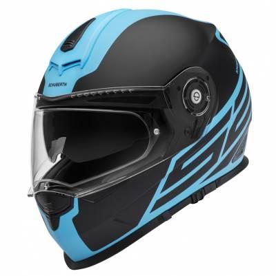 Schuberth Helm S2 Sport Traction Blue, schwarz-blau
