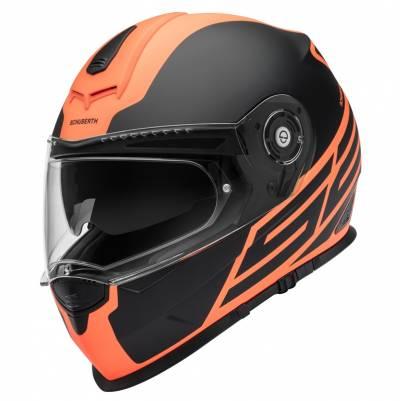 Schuberth Helm S2 Sport Traction Orange, schwarz-orange